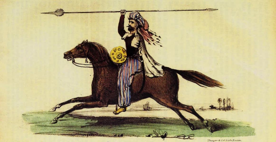 A Residence of Eight Years in Persia - A Koordish Warrior (1843)