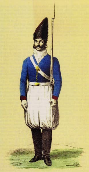 A Residence of Eight Years in Persia - A Persian Soldier (1843)