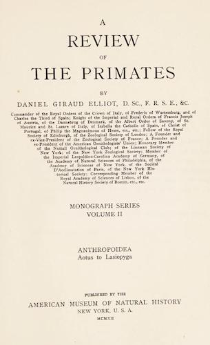 Aquatint & Lithography - A Review of the Primates Vol. 2