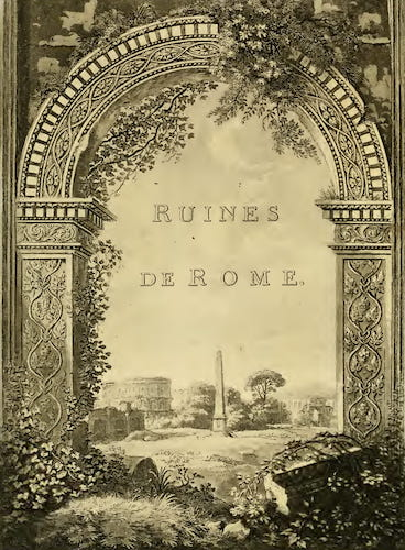 Aquatint & Lithography - A Select Collection of Views and Ruins in Rome