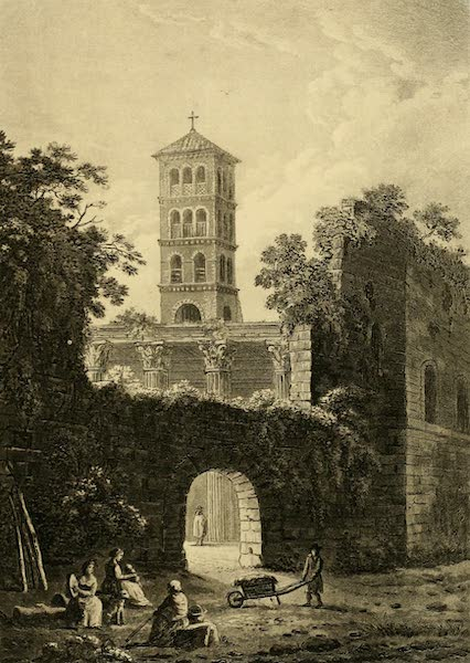 A Select Collection of Views and Ruins in Rome - Arch of Pantani (1815)