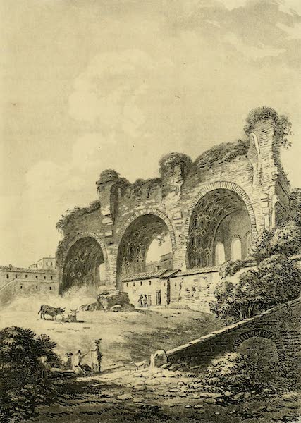 A Select Collection of Views and Ruins in Rome - The Temple of Peace (1815)