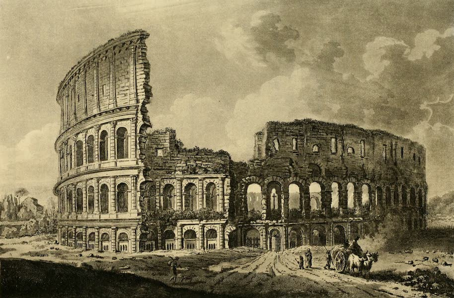 A Select Collection of Views and Ruins in Rome - The Coliseum (1815)
