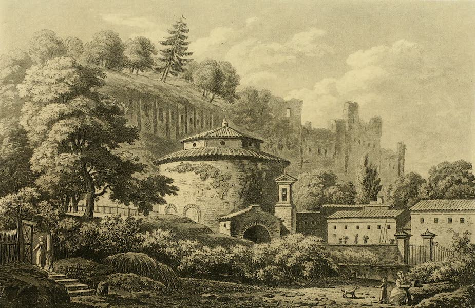 A Select Collection of Views and Ruins in Rome - Temple of Remus and Romulus (1815)