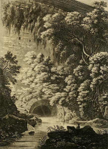 A Select Collection of Views and Ruins in Rome - The Cloaca Maxima (1815)