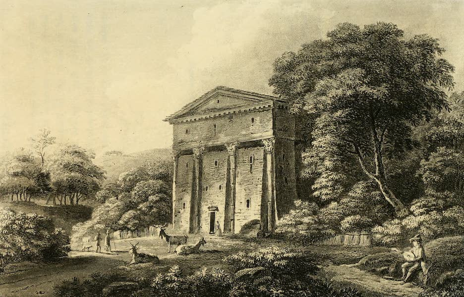 A Select Collection of Views and Ruins in Rome - The Temple of Bacchus (1815)