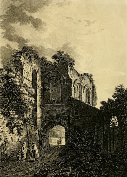 A Select Collection of Views and Ruins in Rome - The Arch of Dolabella (1815)