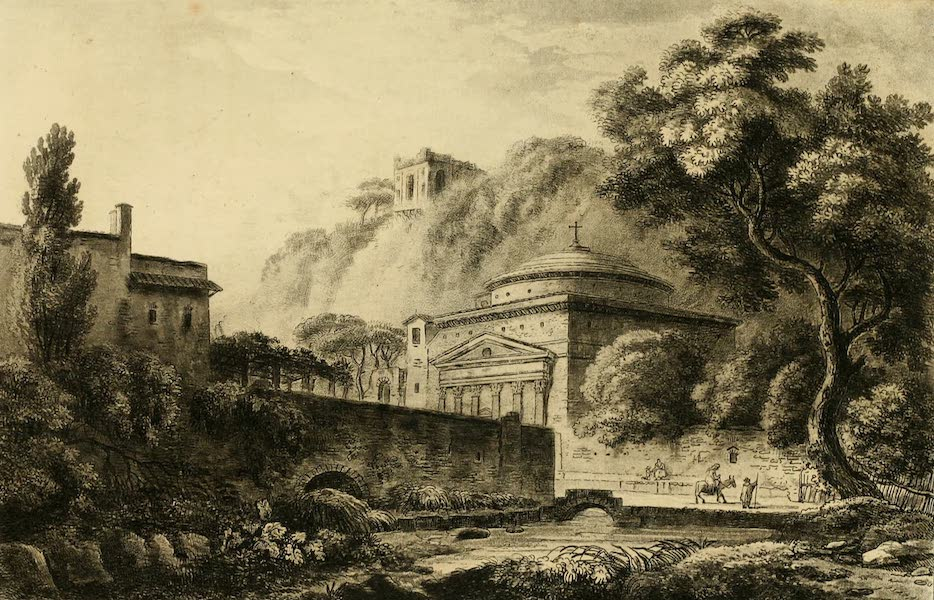 A Select Collection of Views and Ruins in Rome - Church of St. Andrew (1815)