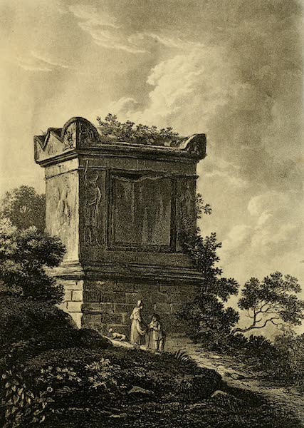 A Select Collection of Views and Ruins in Rome - Tomb of Nero (1815)
