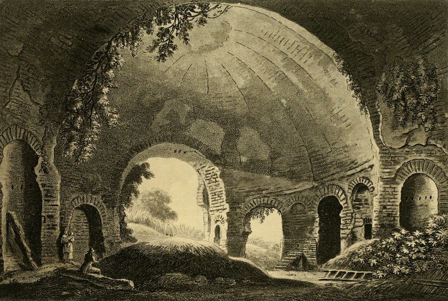 A Select Collection of Views and Ruins in Rome - Temple of Venus (1815)