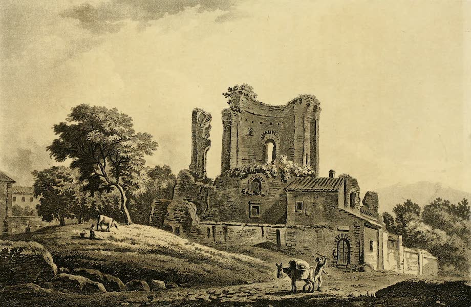A Select Collection of Views and Ruins in Rome - Trophy of Marius (1815)