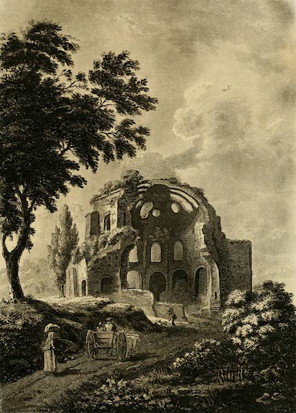 A Select Collection of Views and Ruins in Rome - Temple of Minerva Medica (1815)