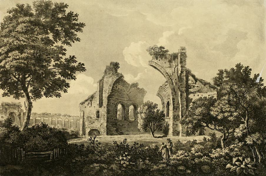 A Select Collection of Views and Ruins in Rome - Temple of Venus and Cupid (1815)