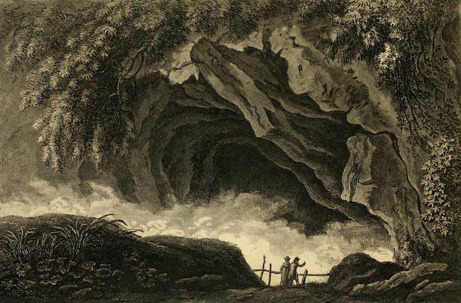 A Select Collection of Views and Ruins in Rome - Grotto of the Sirens (1815)