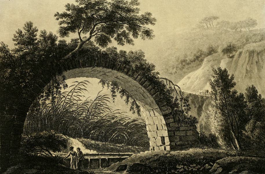 A Select Collection of Views and Ruins in Rome - Bridge of Varus (1815)
