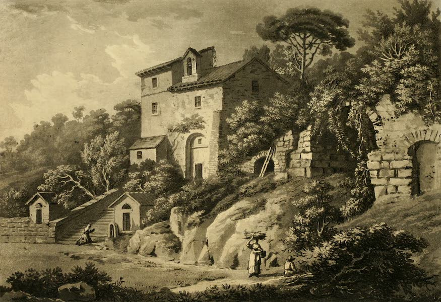 A Select Collection of Views and Ruins in Rome - Hermitage at Albano (1815)