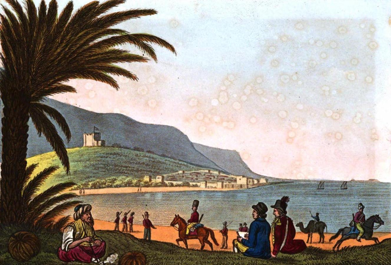 A Selection of Views in Egypt, Palestine, Rhodes, Italy, Minorca, and Gibraltar - Agriculture in Syria (1822)