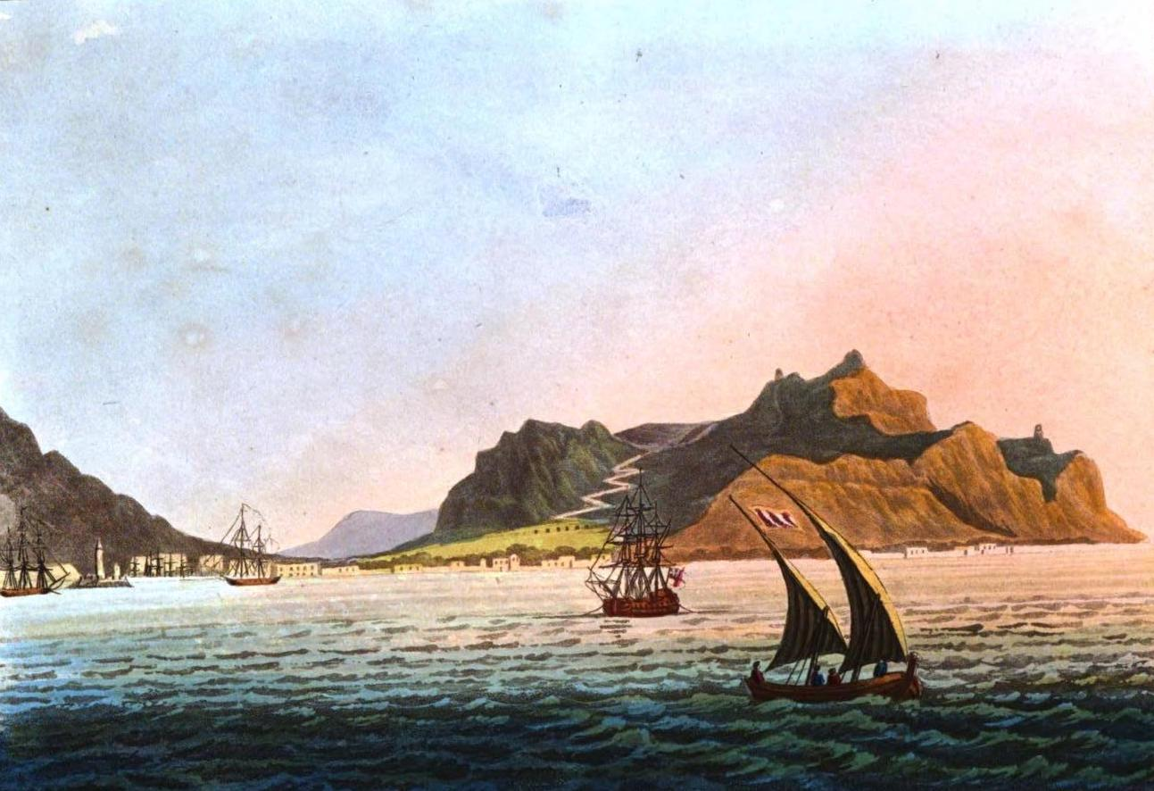 A Selection of Views in Egypt, Palestine, Rhodes, Italy, Minorca, and Gibraltar - Mount Pelegrino, near Palermo (1822)