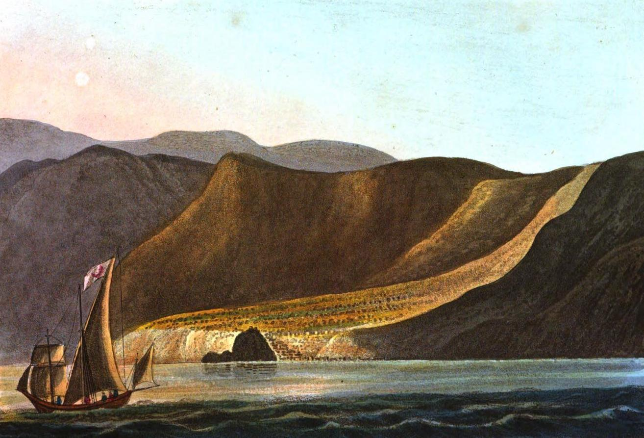 A Selection of Views in Egypt, Palestine, Rhodes, Italy, Minorca, and Gibraltar - Scylla, on the Coast of Calabria (1822)