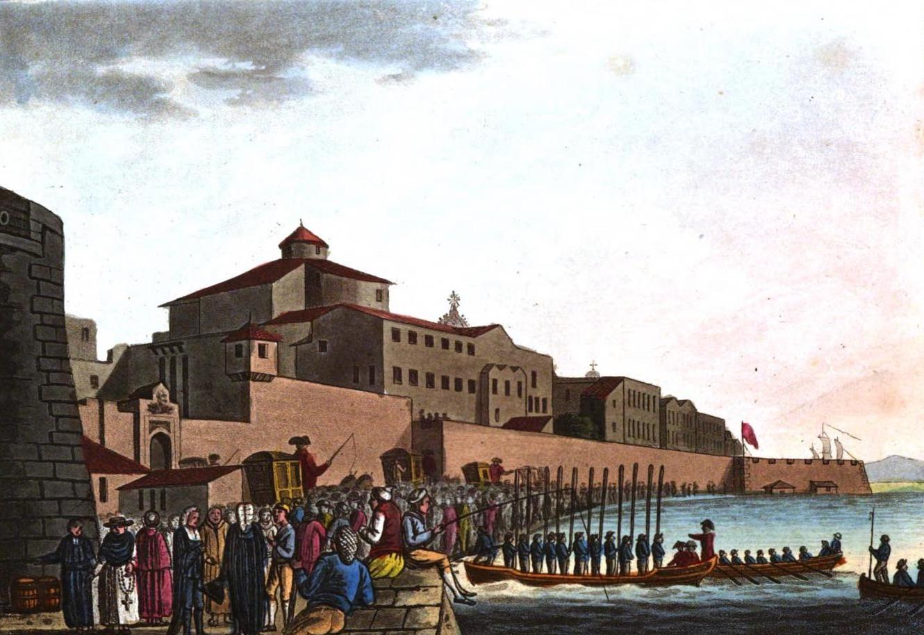 A Selection of Views in Egypt, Palestine, Rhodes, Italy, Minorca, and Gibraltar - Landing Place at Syracuse (1822)