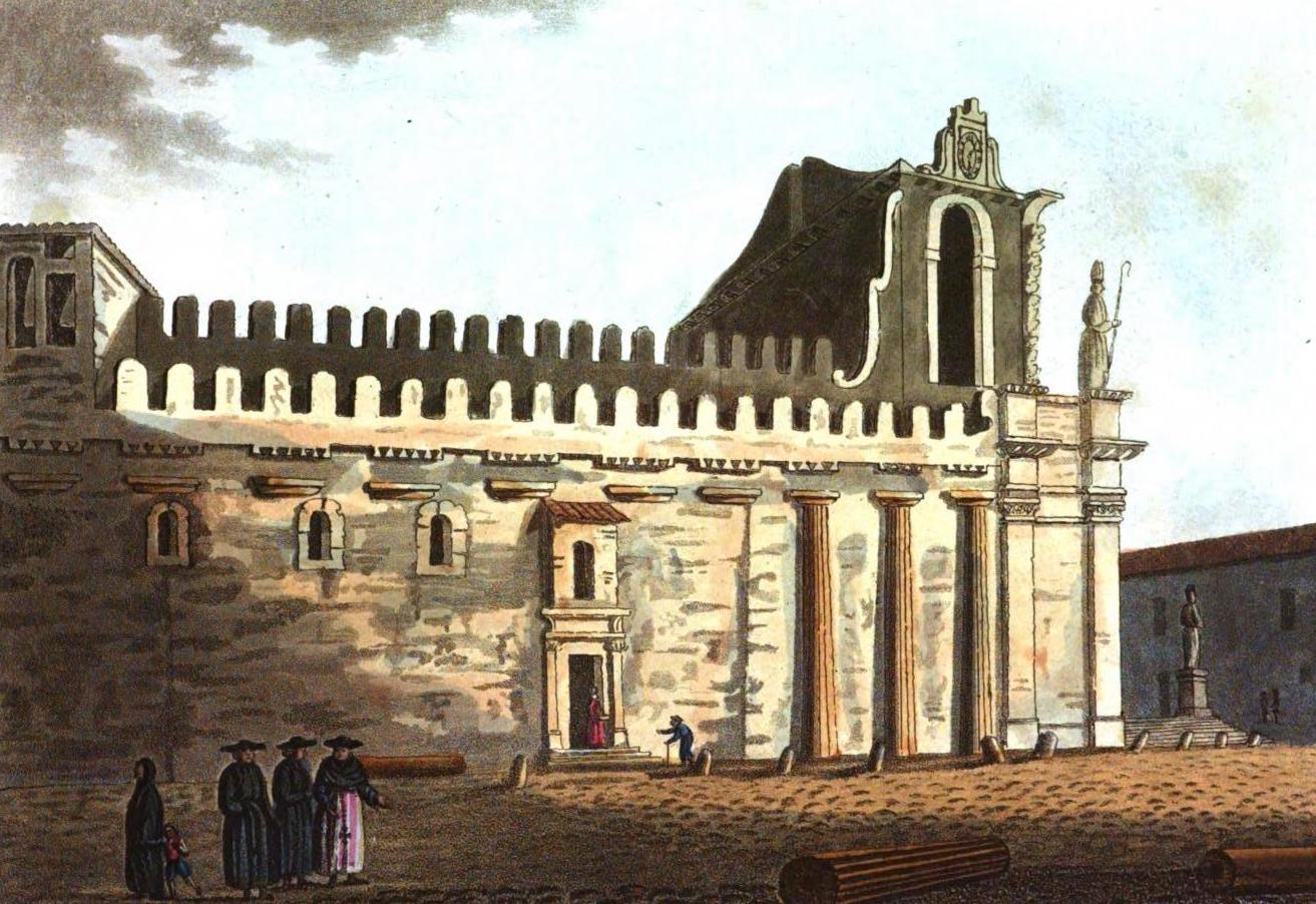 A Selection of Views in Egypt, Palestine, Rhodes, Italy, Minorca, and Gibraltar - Temple of Minerva, Syracuse (1822)