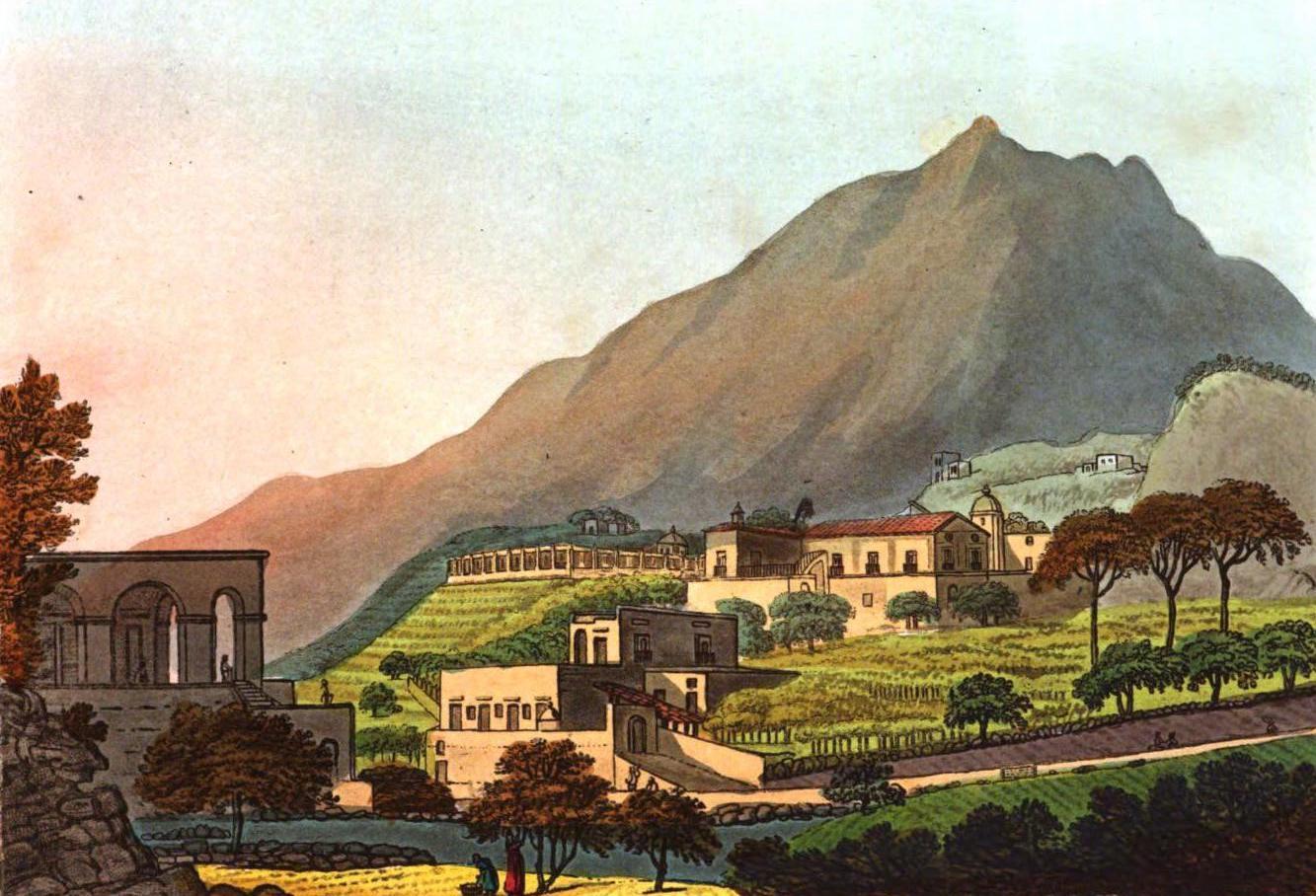 A Selection of Views in Egypt, Palestine, Rhodes, Italy, Minorca, and Gibraltar - Palazzo di Aqua viva, near Lago (1822)