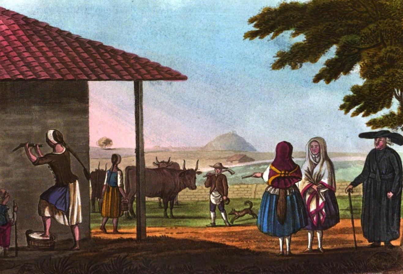 A Selection of Views in Egypt, Palestine, Rhodes, Italy, Minorca, and Gibraltar - Inhabitants of Minorca (1822)