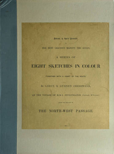 English - A Series of Eight Sketches in Colour of the Voyage of H.M.S. Investigator