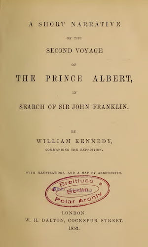English - A Short Narrative of the Second Voyage of the Prince Albert