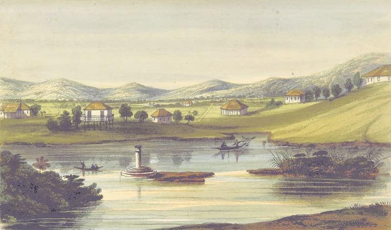 A Sketch of Assam - Gowahatty (1847)