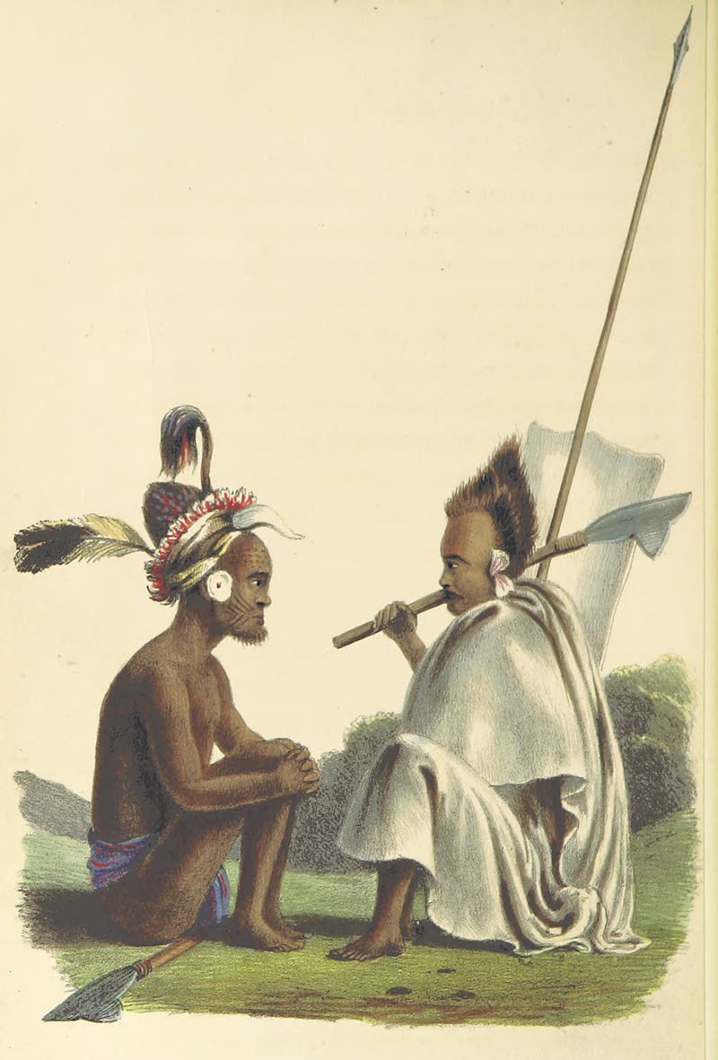 A Sketch of Assam - Nagas (1847)