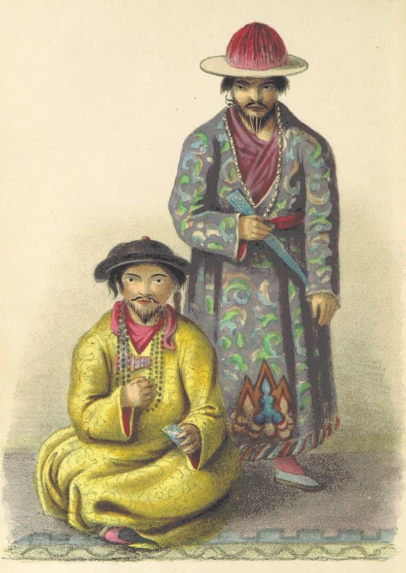 A Sketch of Assam - Cheingtanjing, Booteah Rajah / Gelae, Booteah Rajah (1847)