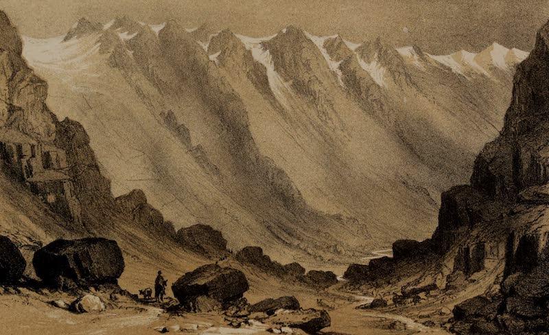 A Sketcher's Tour Round the World - La Cumbre (1854)