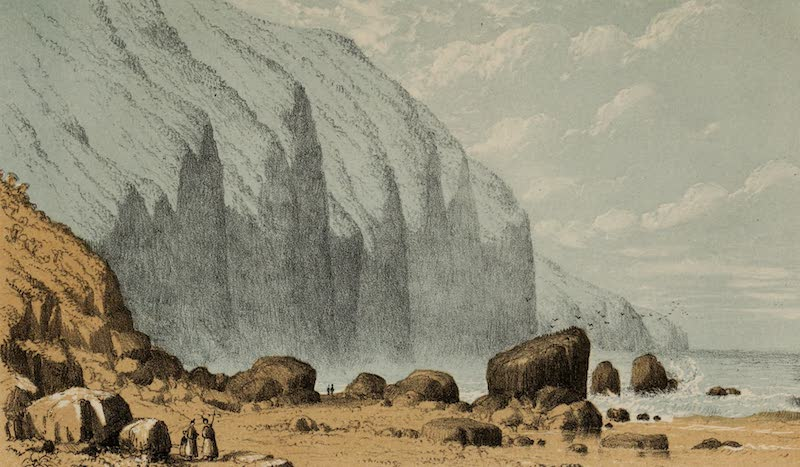 A Sketcher's Tour Round the World - Near San Vincente (1854)