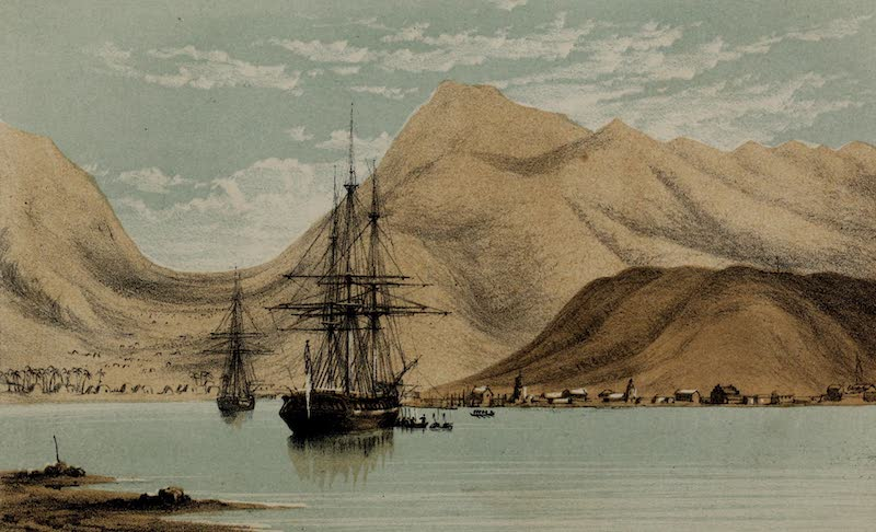 A Sketcher's Tour Round the World - Honolulu (1854)