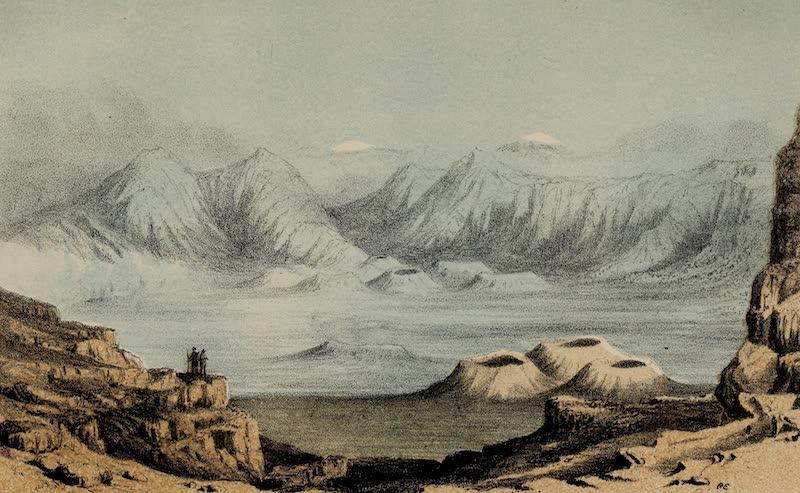A Sketcher's Tour Round the World - Haleakala (1854)