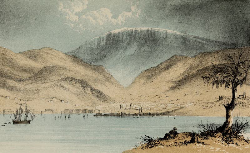 A Sketcher's Tour Round the World - Hobart (1854)