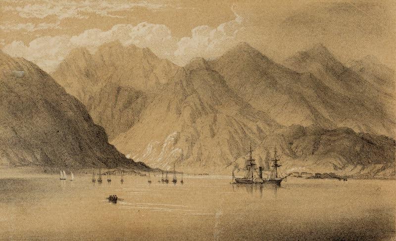 A Sketcher's Tour Round the World - Aden (1854)