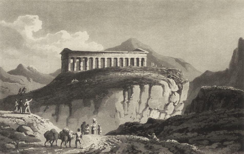 A Tour Through Sicily - Temple of Segeste (1819)