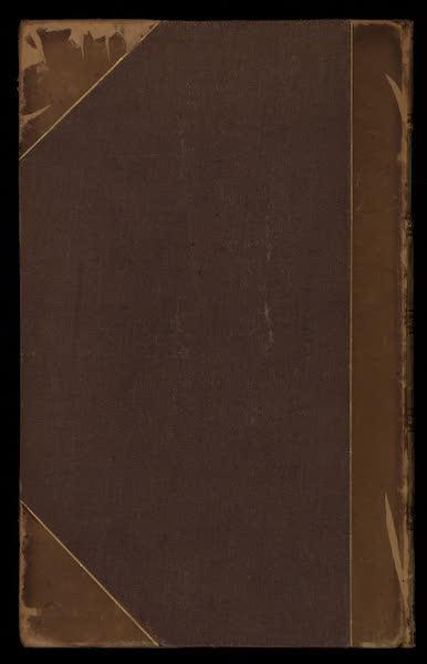 A Tour Through Sicily - Back Cover (1819)