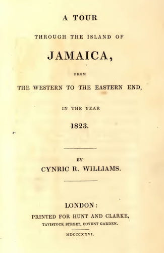 English - A Tour Through the Island of Jamaica