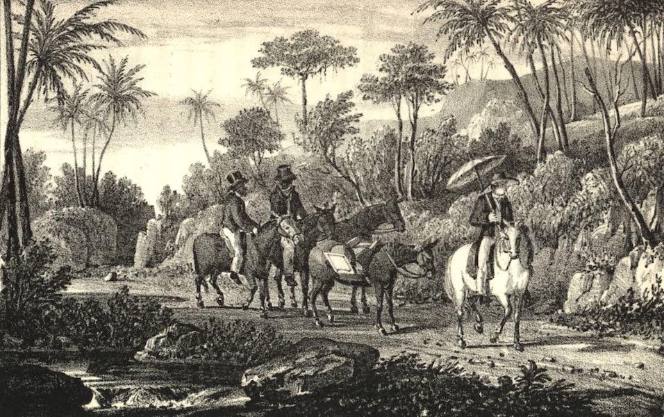 A Tour Through the Island of Jamaica - View near Maroon Town (1826)
