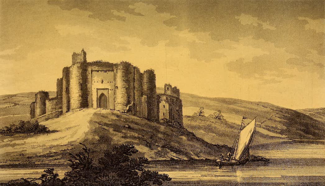 A Tour Throughout South Wales and Monmouthshire - Kidwelly Castle (1803)