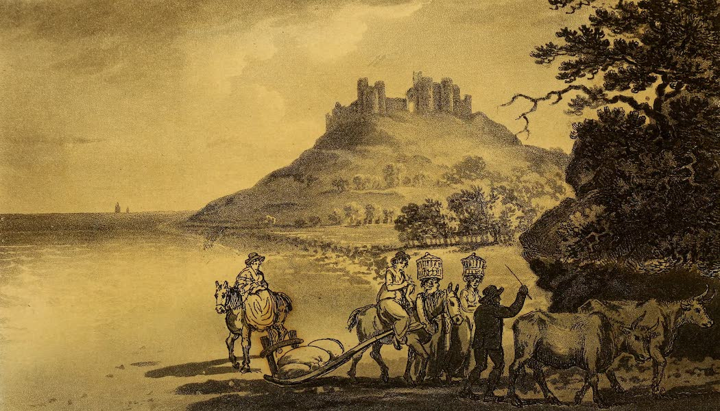 A Tour Throughout South Wales and Monmouthshire - Llanstephan Castle (1803)