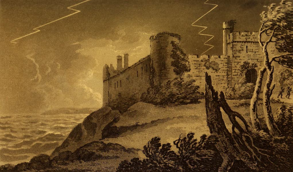 A Tour Throughout South Wales and Monmouthshire - Manorbeer Castle (1803)
