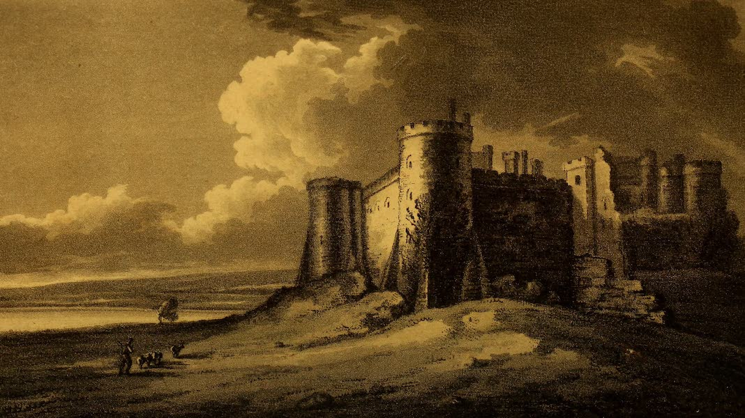 A Tour Throughout South Wales and Monmouthshire - Carew Castle (1803)