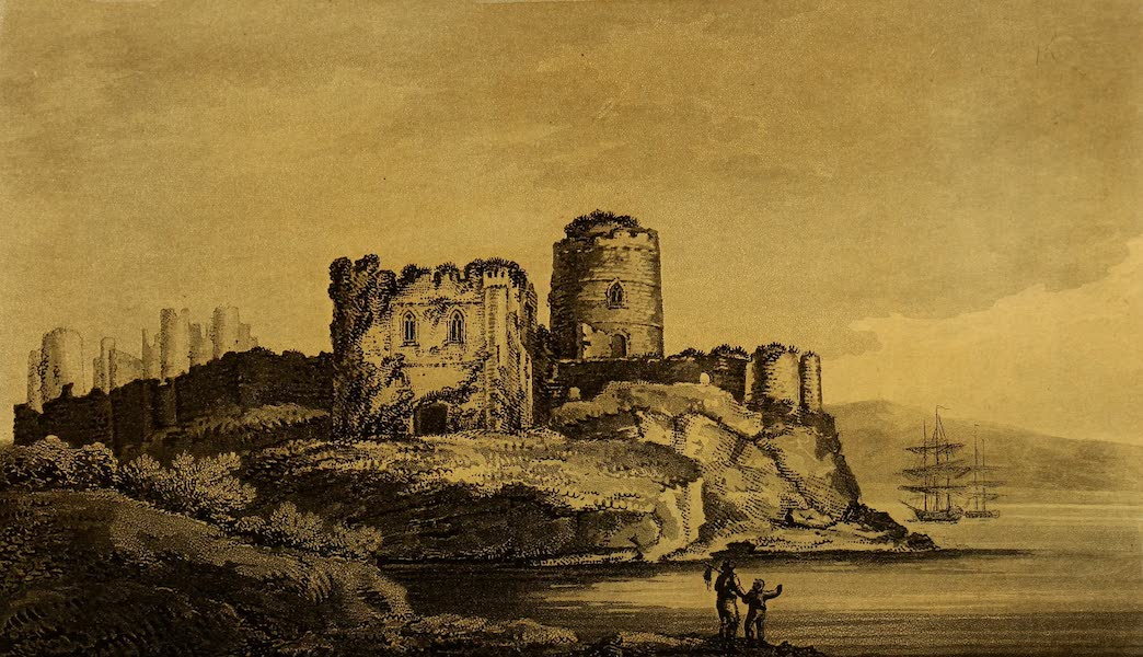 A Tour Throughout South Wales and Monmouthshire - Pembroke Castle (1803)
