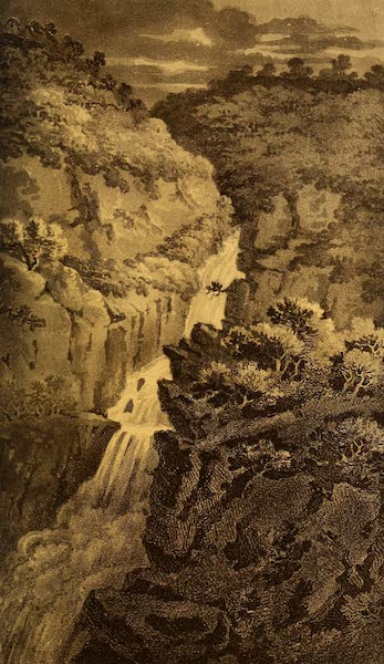 A Tour Throughout South Wales and Monmouthshire - Falls of the Mynach (1803)