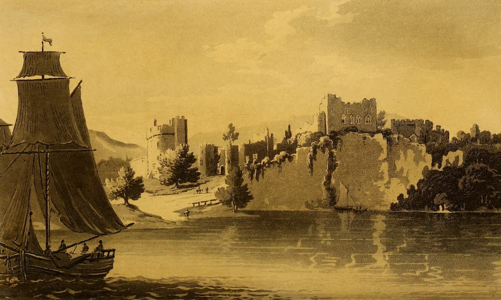 A Tour Throughout South Wales and Monmouthshire - Chepstow Castle (1803)