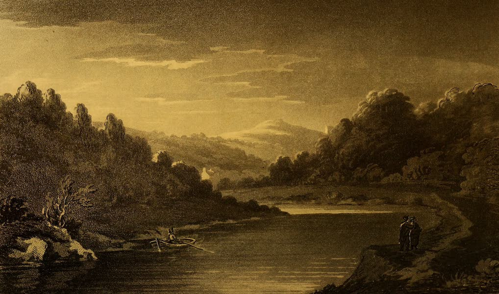 A Tour Throughout South Wales and Monmouthshire - View on the Wye (1803)